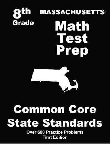 8th Grade Massachusetts Common Core Math - TeachersTreasures.com