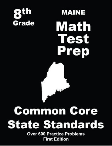 8th Grade Maine Common Core Math - TeachersTreasures.com