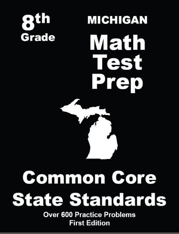 8th Grade Michigan Common Core Math - TeachersTreasures.com