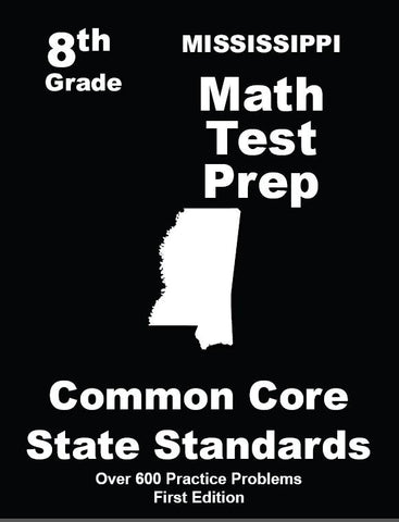 8th Grade Mississippi Common Core Math - TeachersTreasures.com