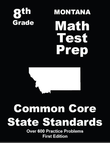 8th Grade Montana Common Core Math - TeachersTreasures.com