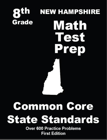 8th Grade New Hampshire Common Core Math - TeachersTreasures.com