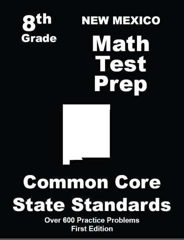 8th Grade New Mexico Common Core Math - TeachersTreasures.com