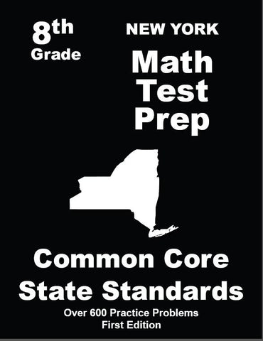 8th Grade New York Common Core Math - TeachersTreasures.com
