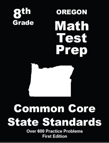 8th Grade Oregon Common Core Math - TeachersTreasures.com