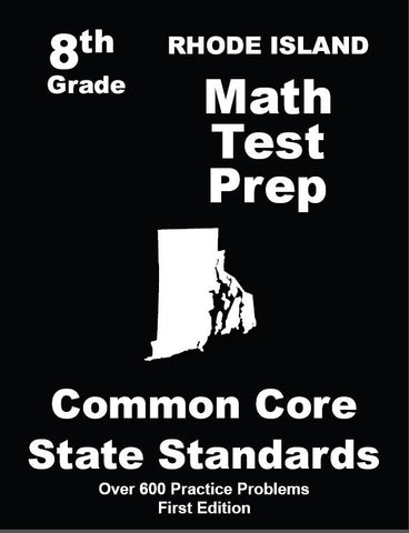 8th Grade Rhode Island Common Core Math - TeachersTreasures.com