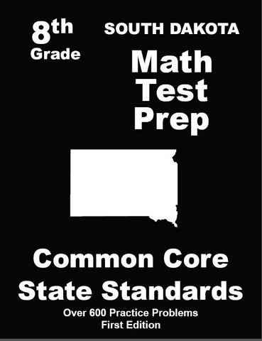 8th Grade South Dakota Common Core Math - TeachersTreasures.com