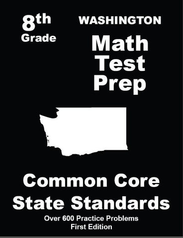 8th Grade Washington Common Core Math - TeachersTreasures.com