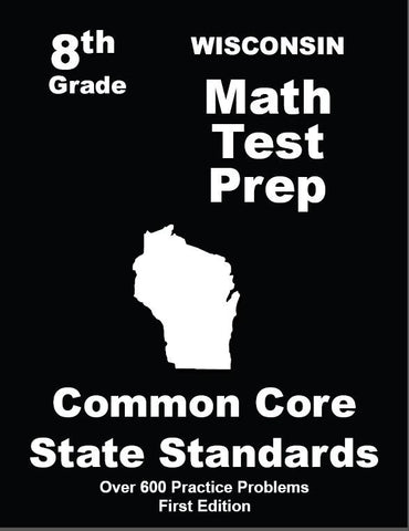 8th Grade Wisconsin Common Core Math - TeachersTreasures.com