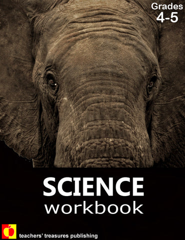 Science Workbook: Grades 4-5