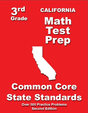 3rd Grade California Common Core Math - TeachersTreasures.com