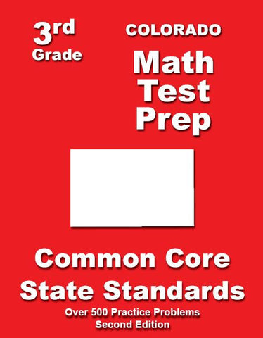 3rd Grade Colorado Common Core Math - TeachersTreasures.com