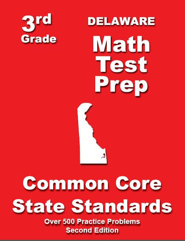 3rd Grade Delaware Common Core Math - TeachersTreasures.com