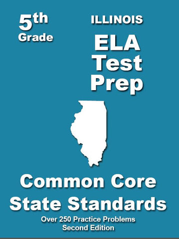 5th Grade Illinois Common Core ELA - TeachersTreasures.com
