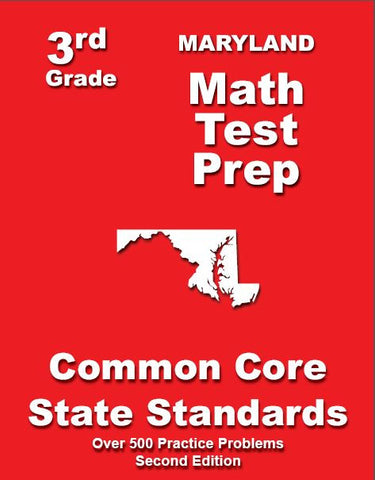 3rd Grade Maryland Common Core Math- TeachersTreasures.com