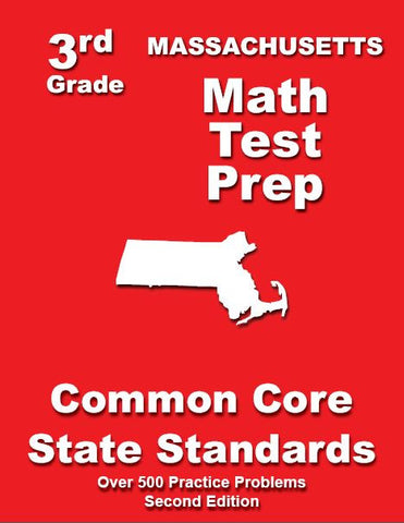 3rd Grade Massachusetts Common Core Math- TeachersTreasures.com