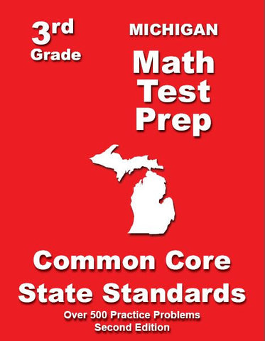 3rd Grade Michigan Common Core Math- TeachersTreasures.com