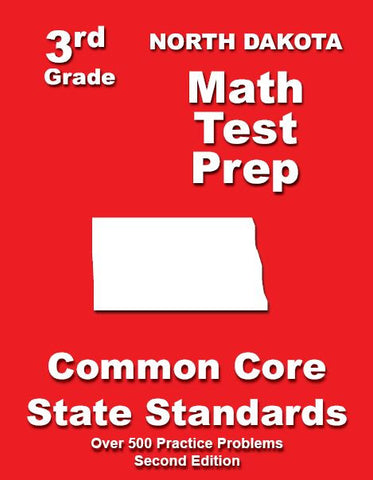 3rd Grade North Dakota Common Core Math - TeachersTreasures.com