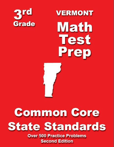3rd Grade Vermont Common Core Math - TeachersTreasures.com