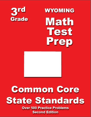 3rd Grade Wyoming Common Core Math - TeachersTreasures.com