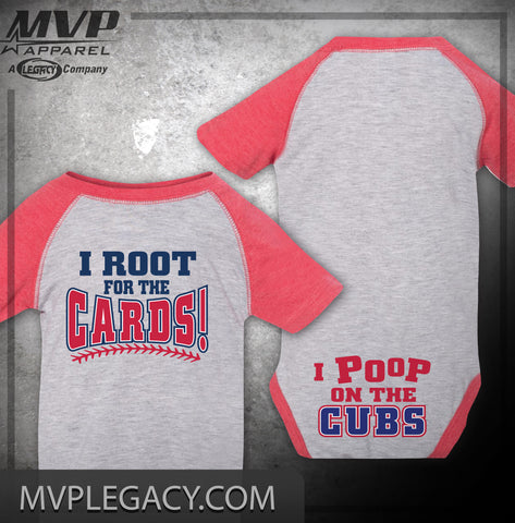 CARDINALS STL Cardinals Poop on the Cubs Baby Item, Cards Cubs Rivalry