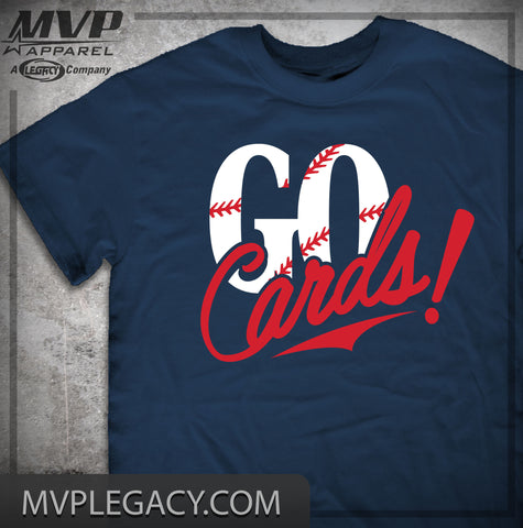 Cardinals-GO CARDS T-SHIRT