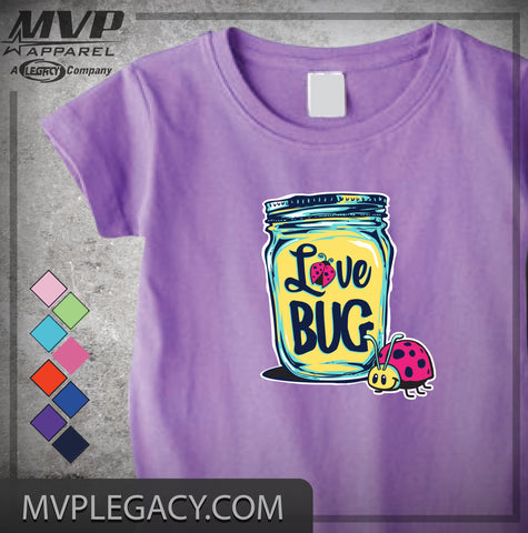 BABY - LOVE BUG T-SHIRT OR INFANT BODYSUIT