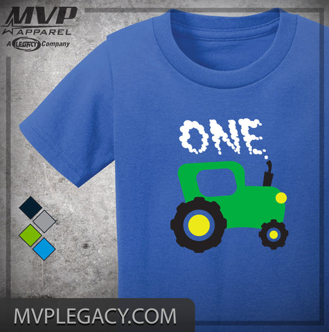 BABY - FIRST BIRTHDAY TRACTOR T-SHIRT