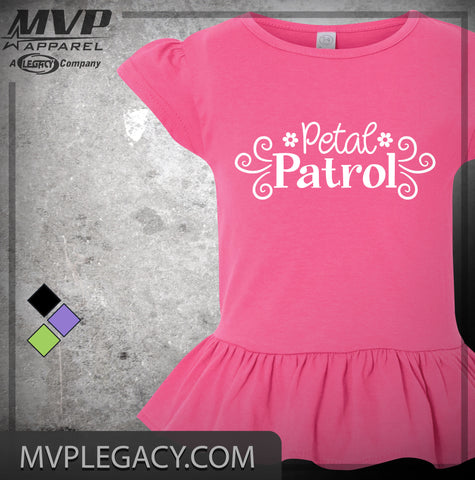baby-Flower Girl Petal Patrol Shirt, Great Gift for Flower Girl ID 77