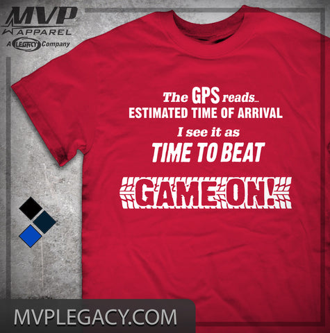 Car-Time to Beat, Game On T-shirt