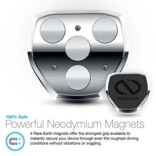 Naztech MagBuddy Anywhere + Magnetic Mount