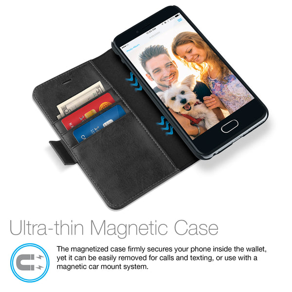 Allure Magnetic Wallet iPhone Case