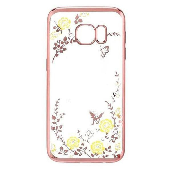Secret Garden Floral Bling Galaxy Case