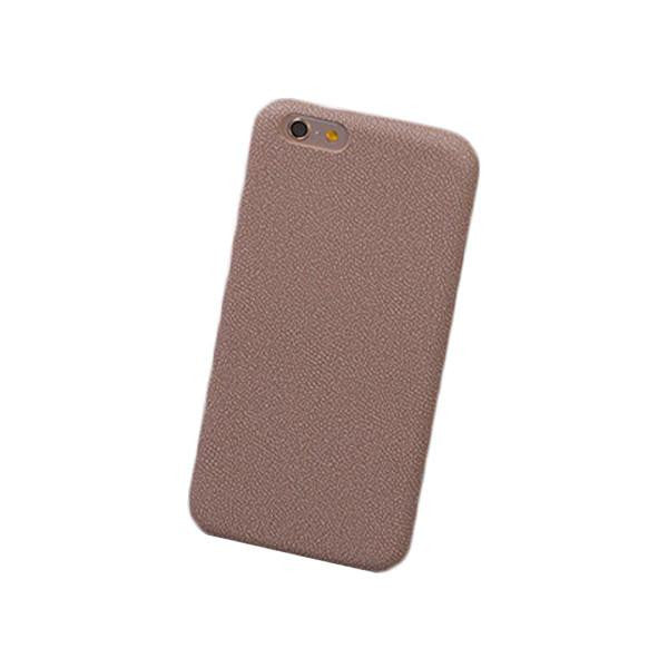 Gravel Pattern Leather iPhone Case