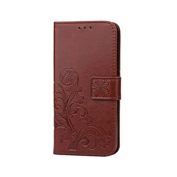 Vintage Flip Leather Wallet Galaxy Case