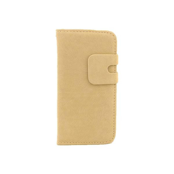 Retro Soft Feel Classic Stand Leather iPhone Case