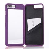 Slim Hybrid Mirror/Wallet/Stand iPhone Case