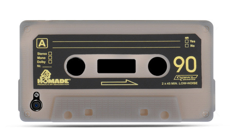 iPhone 4S / iPhone 4 Compatible Cassette Skin Case