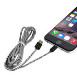 Braided 8 Pin Data Sync Charger Cable for iPhone