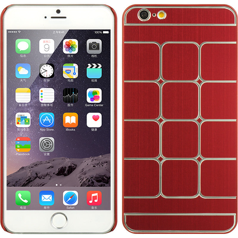 Apple iPhone 6 Plus Aluminum Case Swank Square