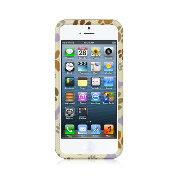 iPhone 5/5S Crystal Rubber Case