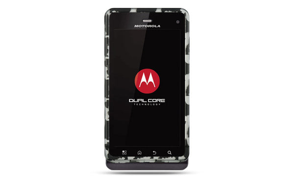 Motorola Droid 3 Crystal Rubber Case