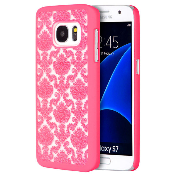 Samsung Galaxy S7 Crystal Rubber Case