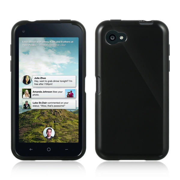 HTC First Crystal Skin Case