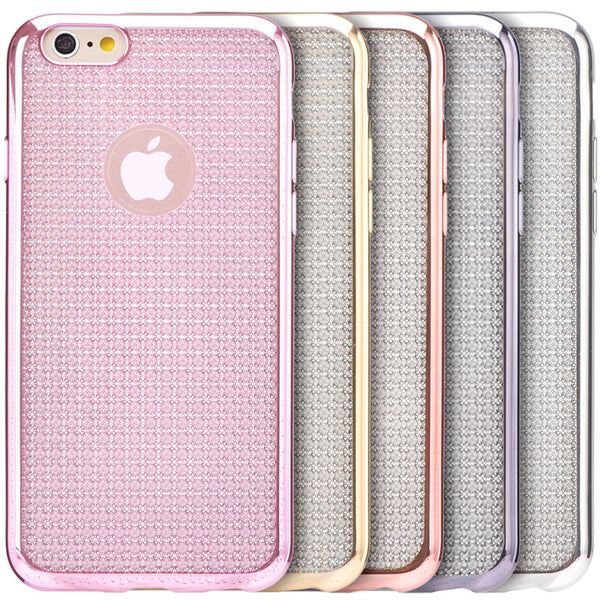 Luxury Chrome Shimmer iPhone Case