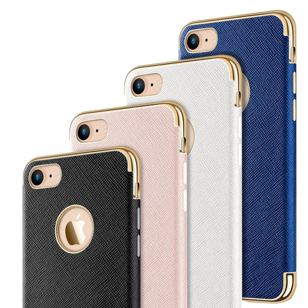 Apple iPhone Saffiano Luxury TPU Case