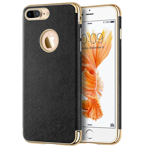Apple iPhone 7 Plus Saffiano Luxury TPU Case