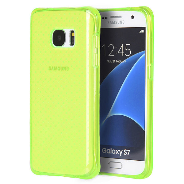 Samsung Galaxy S7 Crystal Atom Lite Anti-Shock TPU Case
