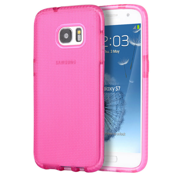 Samsung Galaxy S7 Contempo Cube Series Anti-Shock TPU Case