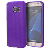 Samsung Galaxy S7 Edge Dotted TPU Back Case